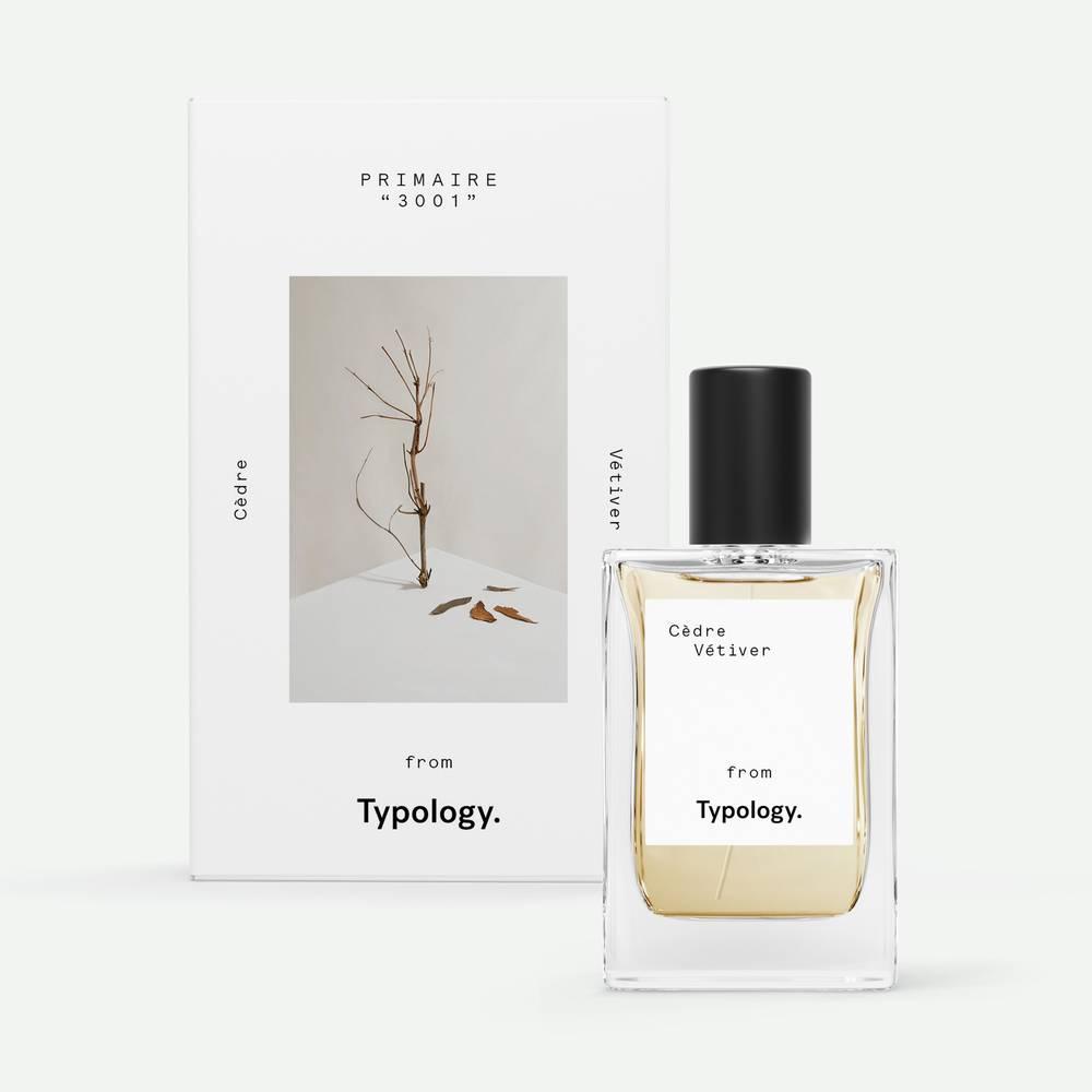 Parfum aux notes de cèdre et de vétiver de 30ml de face